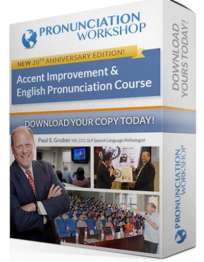 American Pronunciation Workshop