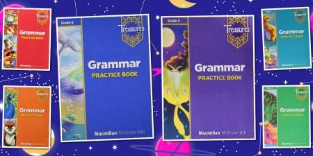 语法练习册1-6年级