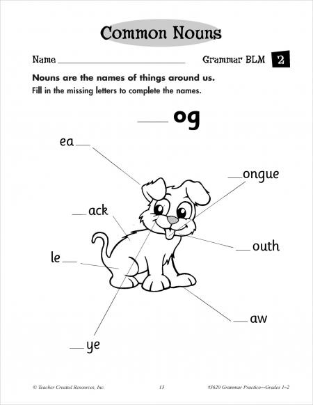 basic elements of grammar
