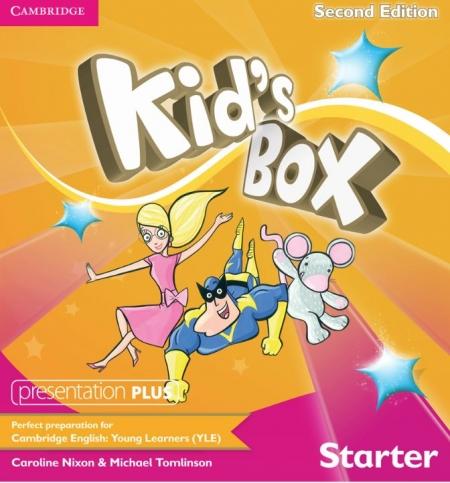 Cambridge International Children's English examination department kids box 2