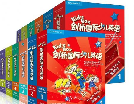剑桥少儿英语Kids Box 2 第二版