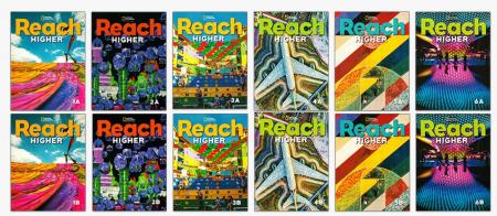 Reach Higher 是国家地理学习推出的国际版 Reach