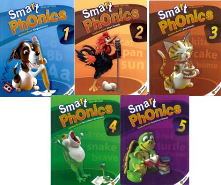 自然拼读New Smart Phonics series1-5级