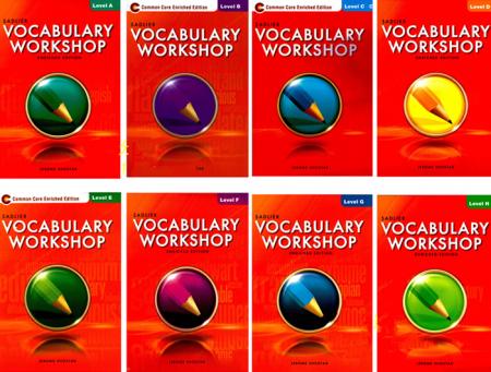 vocabulary workshop Common Core Enriched Edition