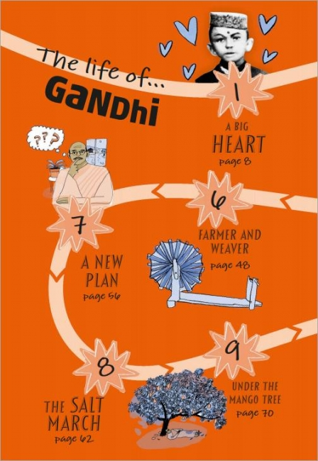 DK Life Stories Gandhi 甘地