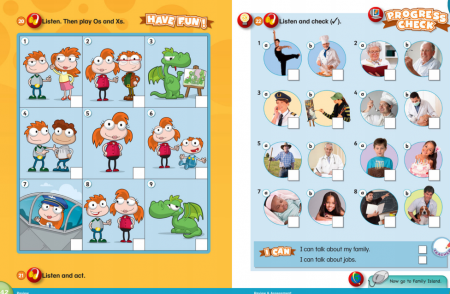 Our Discovery Island1-6 primary school English