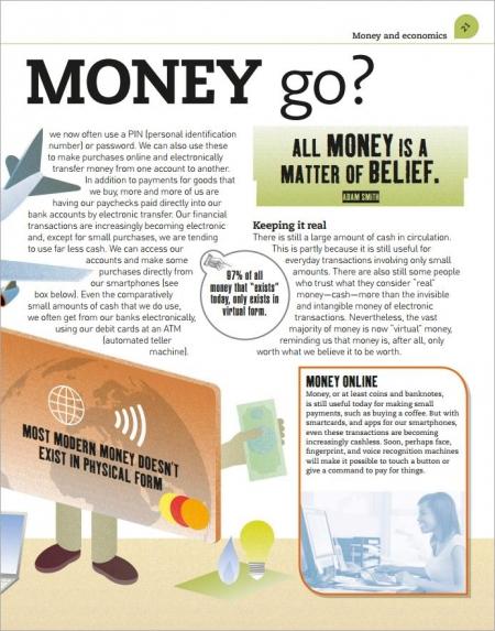DK heads up money makes the world go round