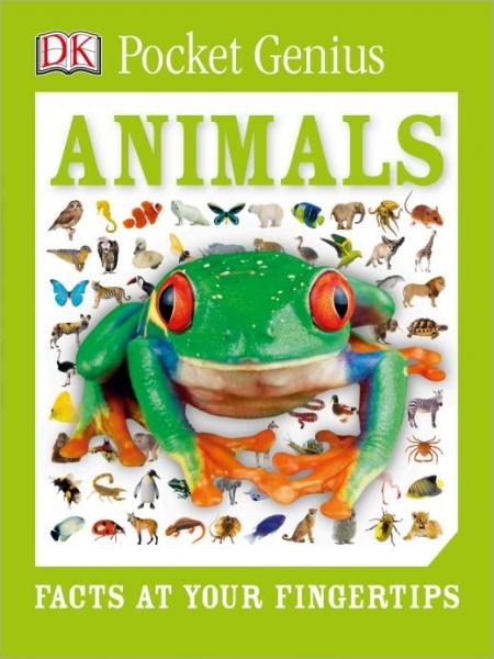 DK Pocket Genius Animals -Dorling Kindersley