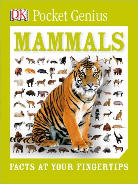 DK Pocket Genius Mammals-Dorling Kindersley