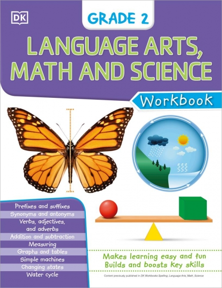 DK language arts math and science featuring drawing, puzzles, kitchen-science experiments